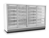 Remote Glass Door Freezers Cases