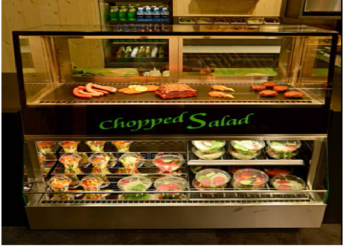 Chopped Salad station