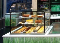 Green Insulated Glass Refrigerated Display