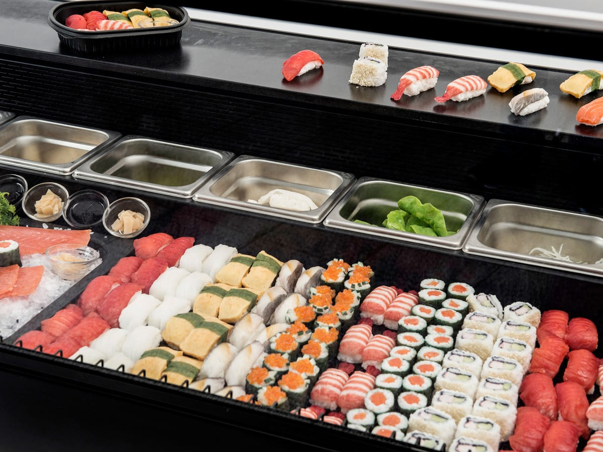 Sushi In Counter