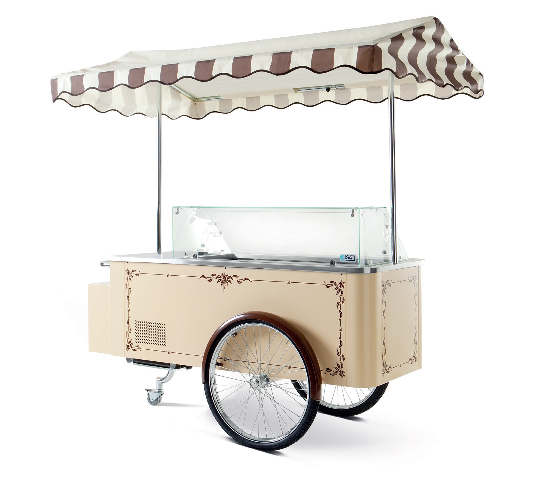 Il Carrettino Classic Ice Cream Cart Capital Refrigeration