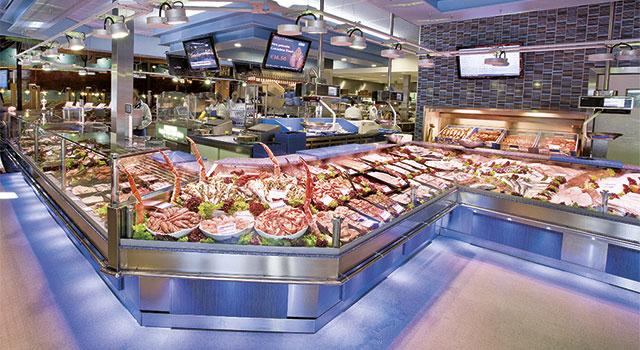 Mondel Fish Display Counters