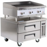Low Profile Broiler Counters