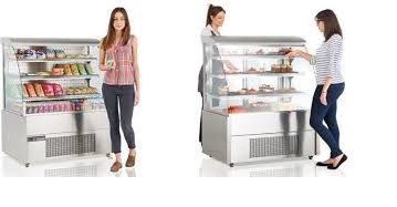 Bakery & Coffee Shop Display Counters