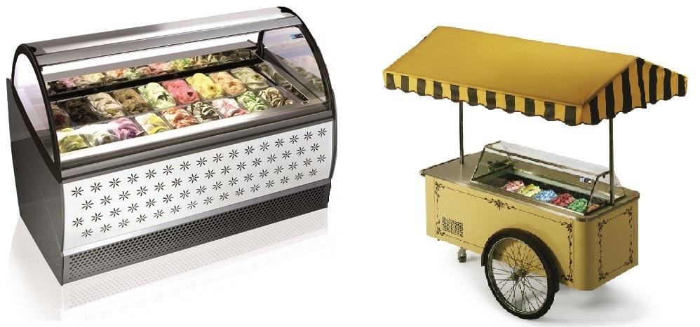 Ice Cream Counters & Carts