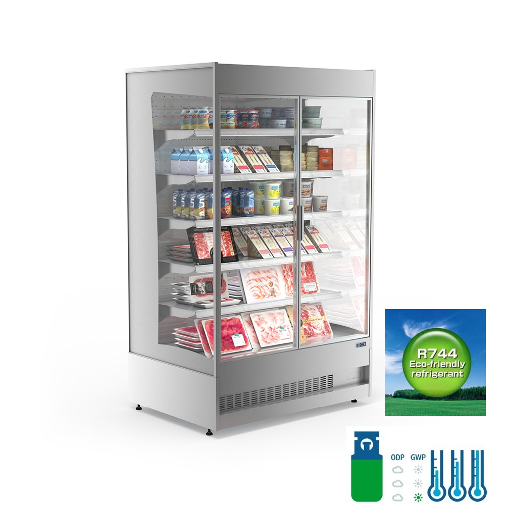 CO 2 Refrigeration Display Cases