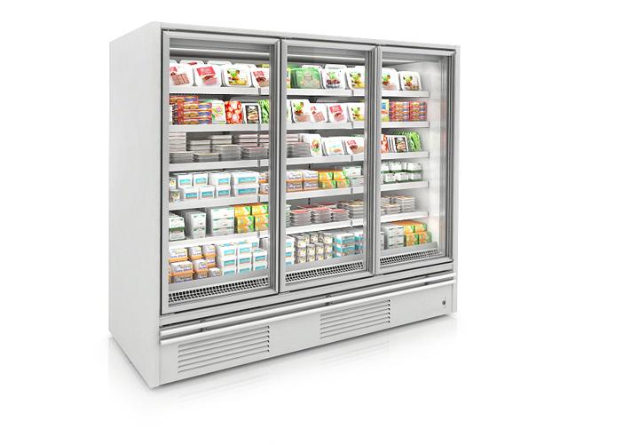 Heavy Duty Glass Door Freezers