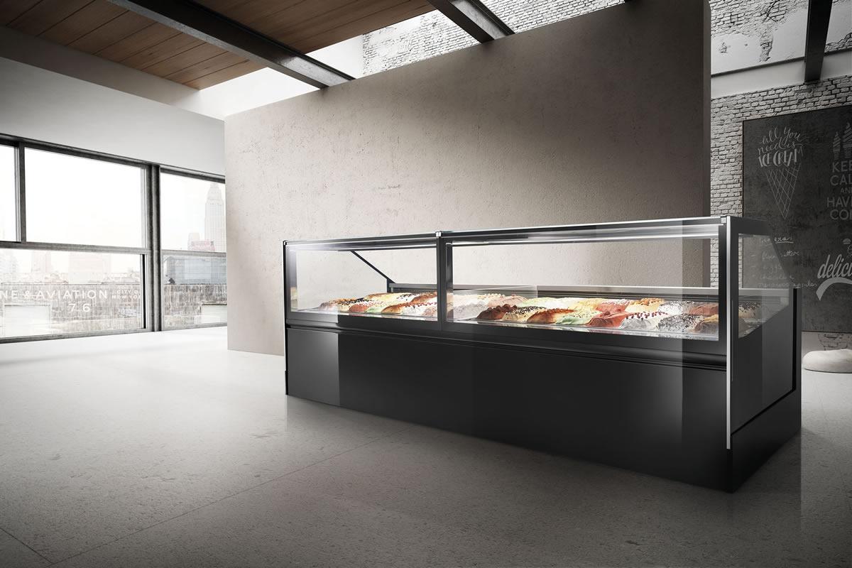 Professional Ice Cream Gelato Counters