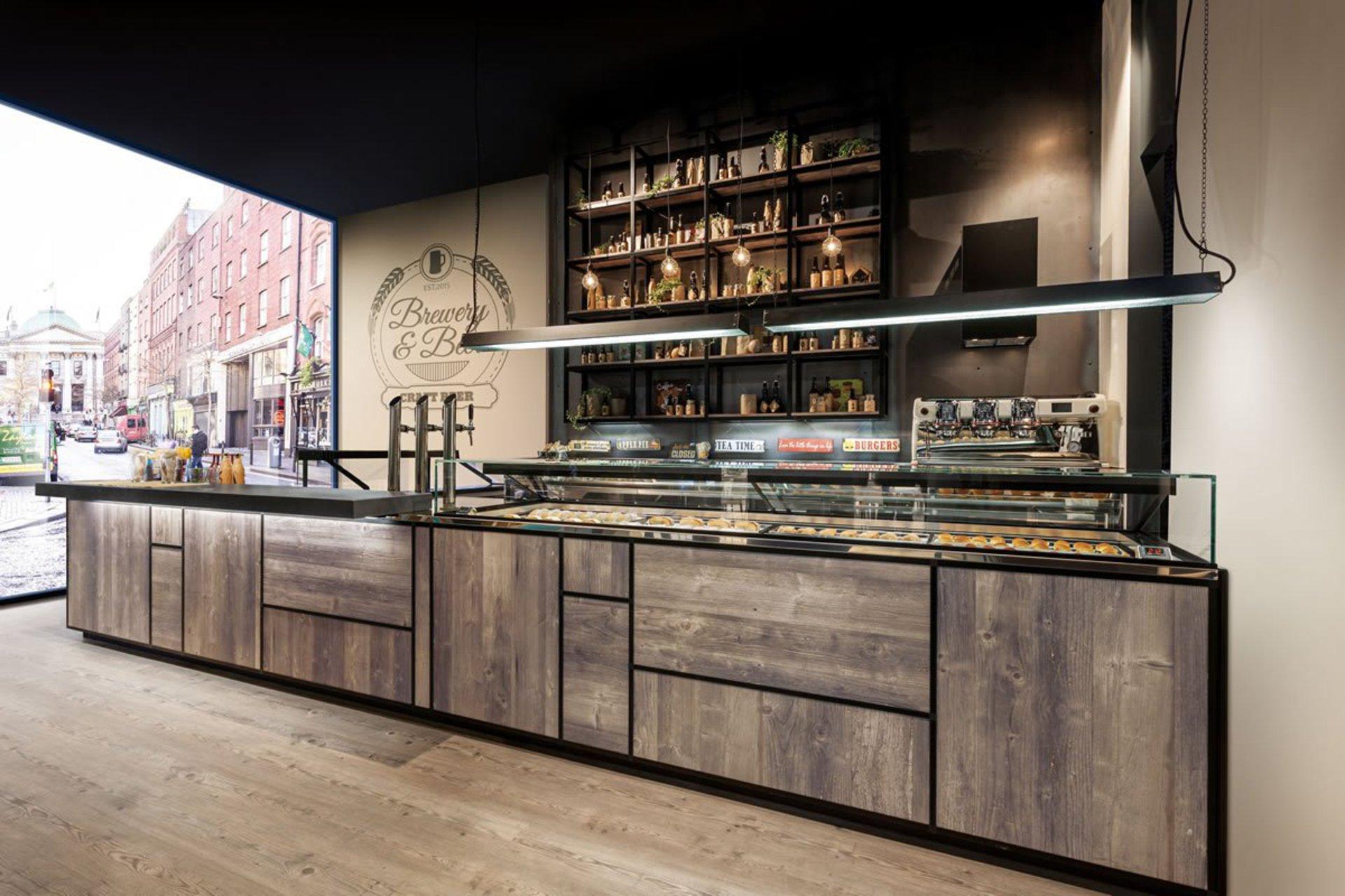 Deli & Coffee Shop Countering Systems